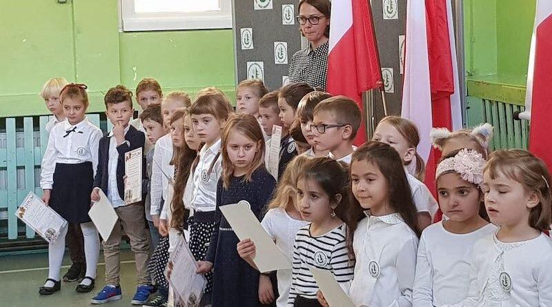 Pasowanie na uczniów szkoły