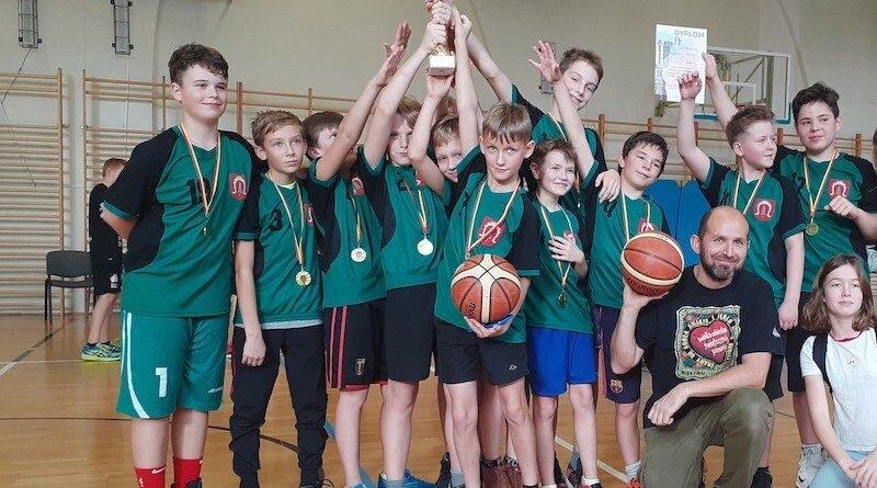 Koszykówka Chłopców – I  miejsce