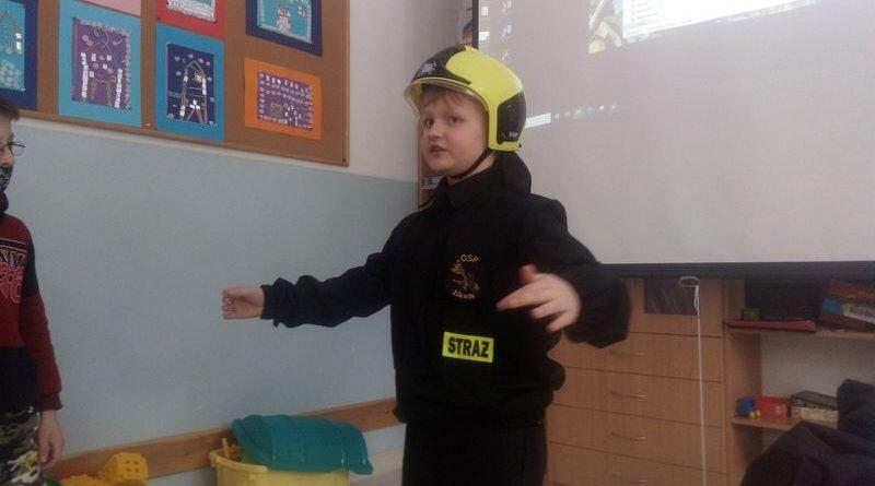 Nasze pasje i zainteresowania- straż pożarna