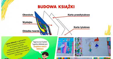 Tydzień Bibliotek w bibliotece szkolnej