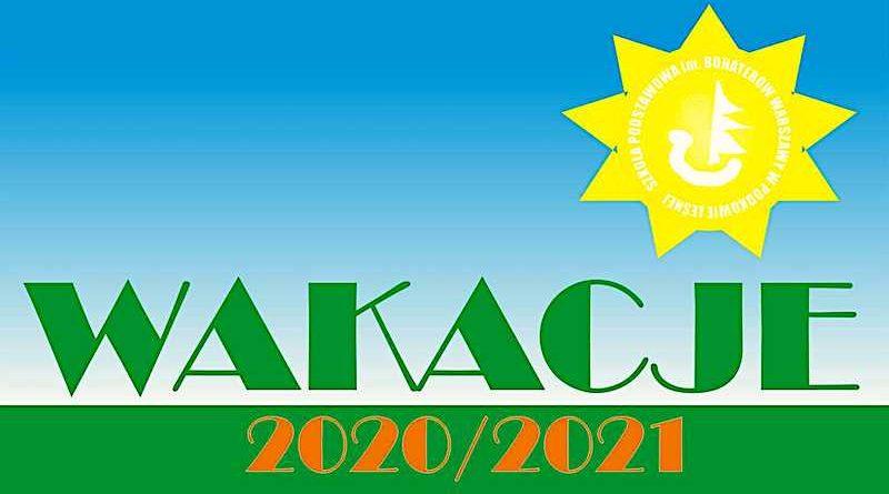 Dziękujemy za wspólną naukę i pracę w roku szkolnym 2020/2021